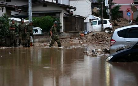 Death Toll Could Double to over 80 in Hiroshima Landslide, More Rain Falls