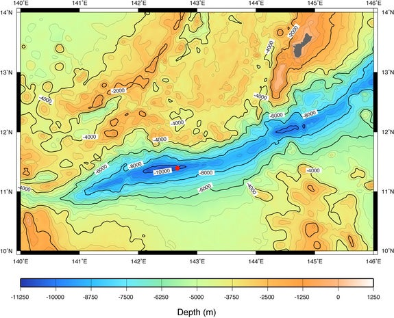 Unusual bacteria discovered in deepest ocean trench scientific unusual bacteria discovered in deepest ocean trench gumiabroncs Gallery