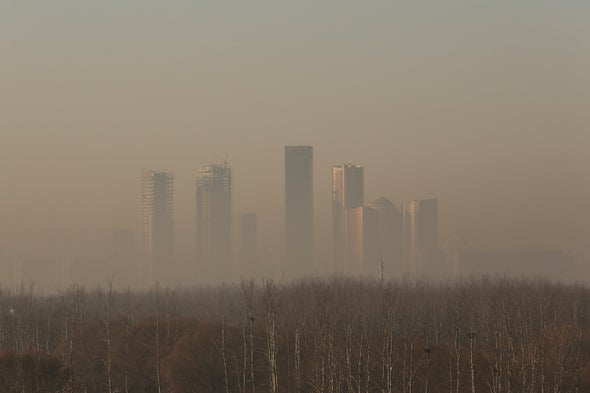 Asia's Pollution Is Miles above the U.S.--Could It Cool Earth?