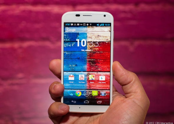 Motorola's flagship phone, the Moto X, has arrived