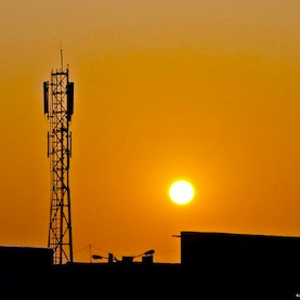 Why Cellular Towers in Developing Nations Are Making the Move to Solar Power