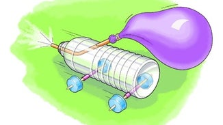 Build a Balloon-Powered Car
