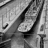 A Ship in the Locks: