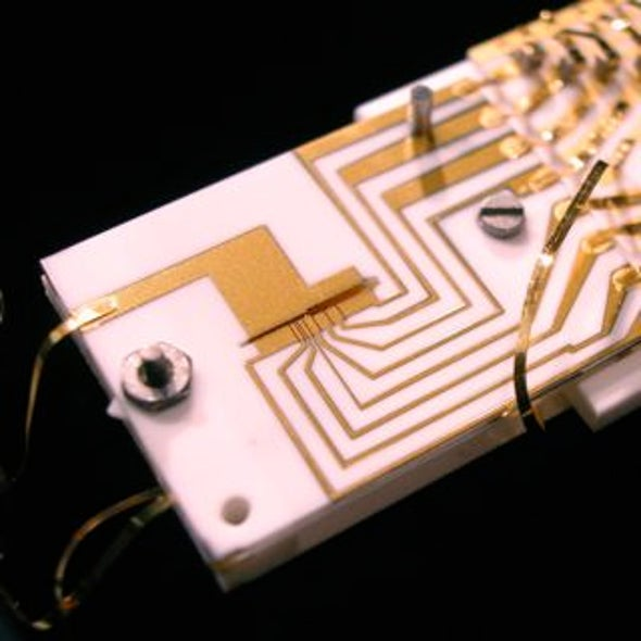 Small-Scale Quantum Processor Gets Its Act Together