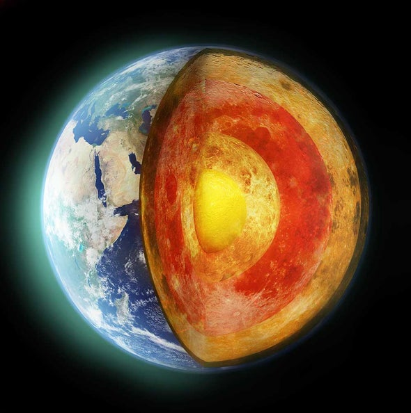 Magnetic Mystery of Earth's Early Core Explained