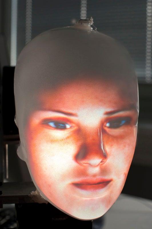 Facial Scare? Robots Get Human Faces