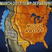 NOAA Confirms Unprecedented Warmth in March