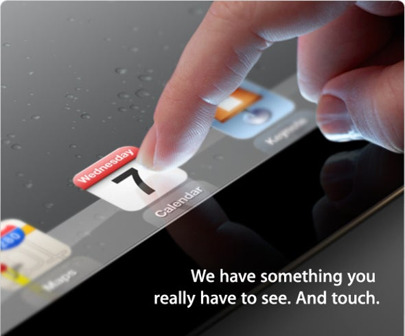Apple Sends Out Invites for March 7 iPad Event