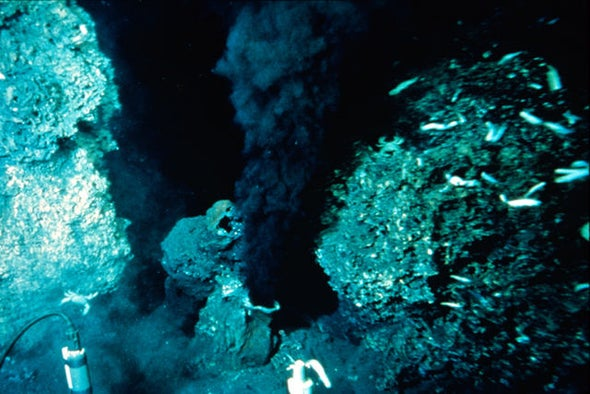 Undersea Volcanoes Erupt with Gravity, Shifting Earth's Climate