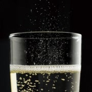 Champagne Bubbles Liberate Flavor Compounds