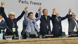 World's First Global Deal to Combat Climate Change Adopted in Paris