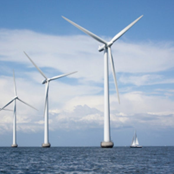 For Clean Energy, Britain Looks to Sea