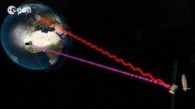 Lasers Boost Space Communications