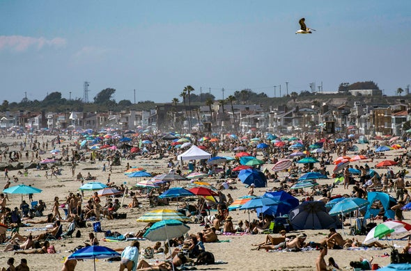 Summer Presents Dangerous Choice: Swelter in Quarantine or Risk Contagion