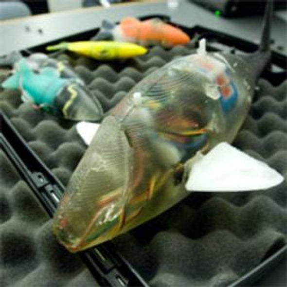 Researchers Spawn a New Breed of Robotic Fish
