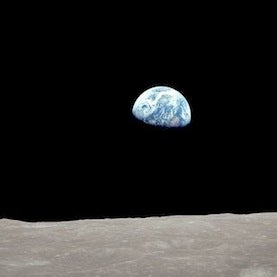 """Iconic <i>Apollo 8</i> """"Earthrise"""" Photo Re-created 45 Years Later [Video]"""