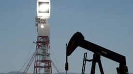 Solar Steam Helps Coax Heavy Oil from Old Fields