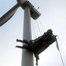 Hoisting One for Wind Power: Climbing Crane Expected to Keep Vestas Turbines Spinning [Slide Show]
