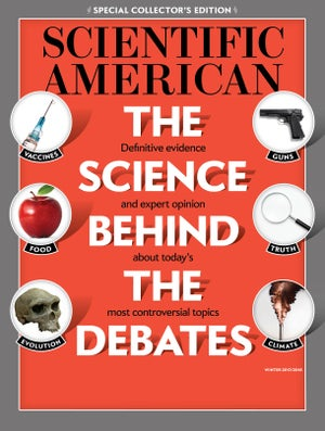 Not Up For Debate Science Behind >> December 2017 Scientific American