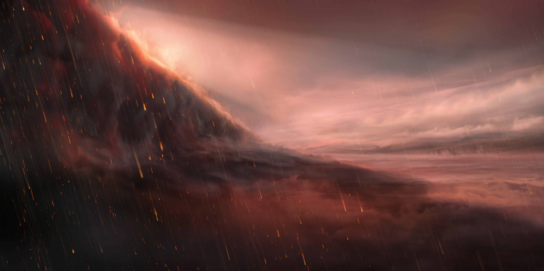 Molten Iron Rain Falls On Scorching-Hot Exoplanet