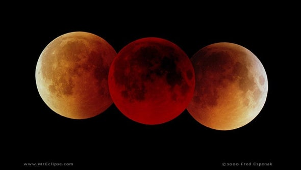 Catch a Total Lunar Eclipse Sidling Up to Mars—and Send Us Your Photos