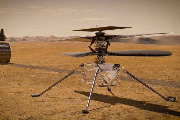 Ingenuity's 'Wright Stuff': A Piece of the Wright Flyer Will Soar on Mars