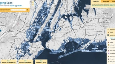 What Does the U.S. Look Like after 3 Meters of Sea Level Rise?