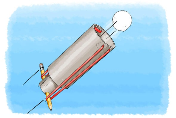 Ready...Aim...Energize! Make Your Own Cotton-Ball Launcher
