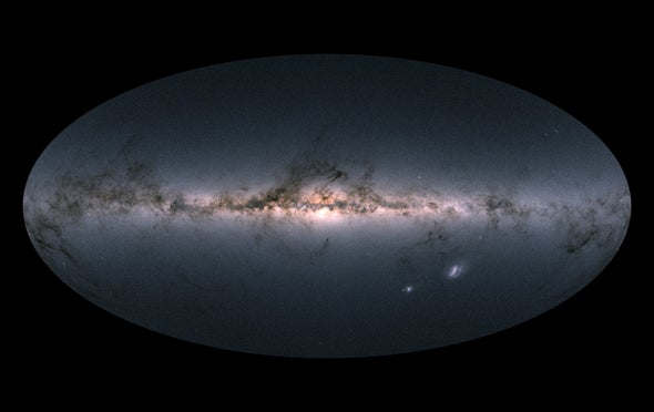 New Star Maps Shed Light on Milky Way's Convulsive History