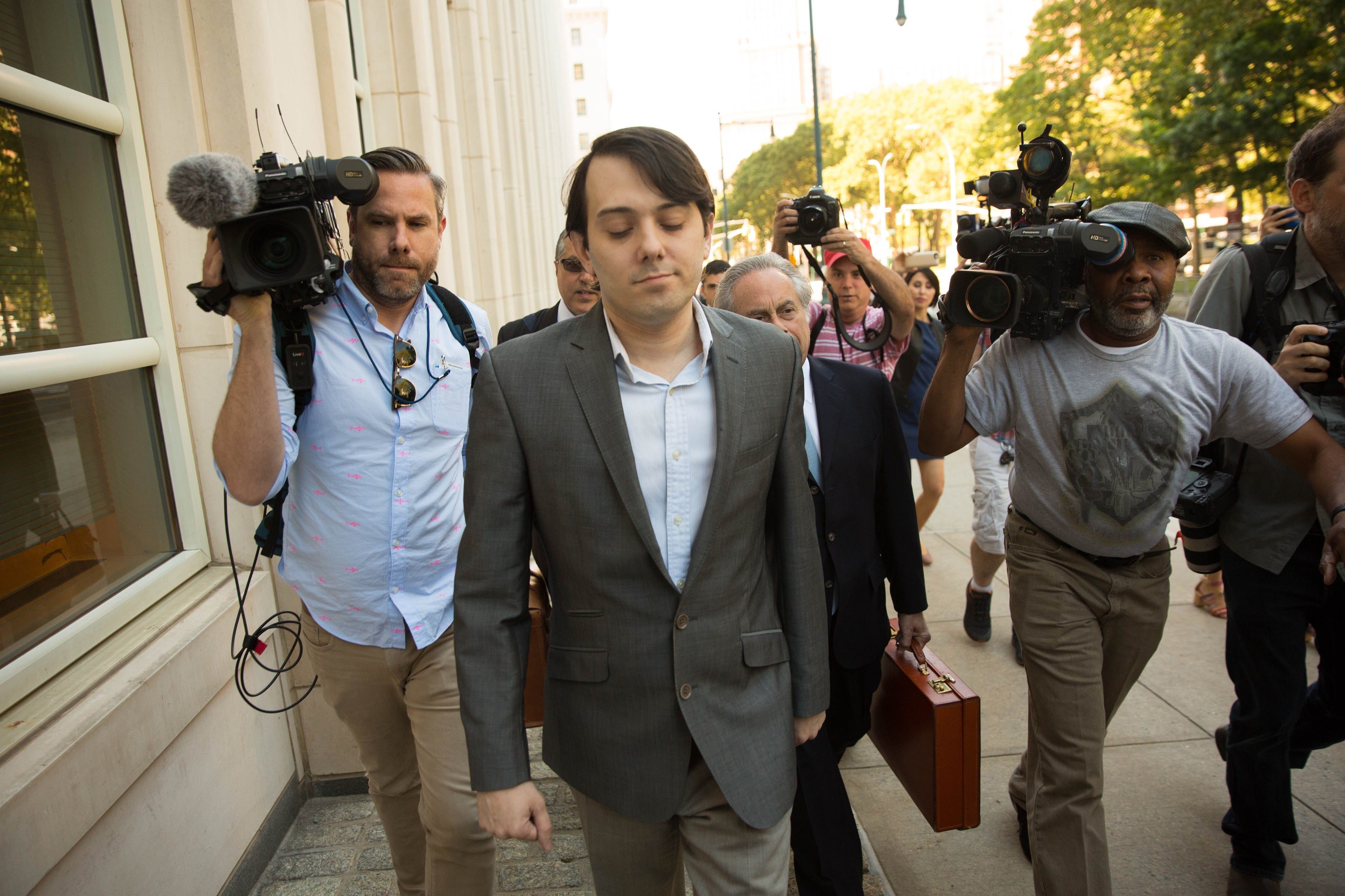 Martin Shkreli, Who Raised Drug Prices 5,000 Percent, Heads into Fraud Trial