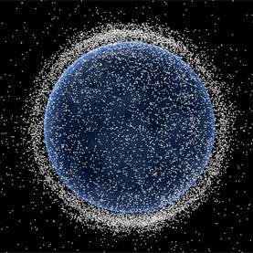 A Minefield in Earth Orbit: How Space Debris Is Spinning Out of Control [Interactive]