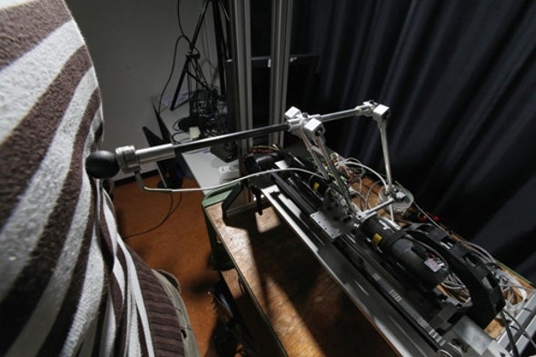 """This Robot Messes with Your Brain Until You Feel a """"Ghostly Presence"""""""