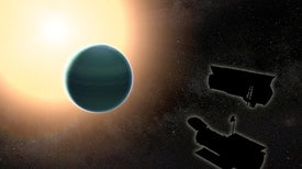 "Astronomers Find Water and Weird Clouds on Extrasolar ""Warm Neptune"""