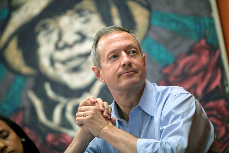 O'Malley Says He Is the Real Climate Candidate