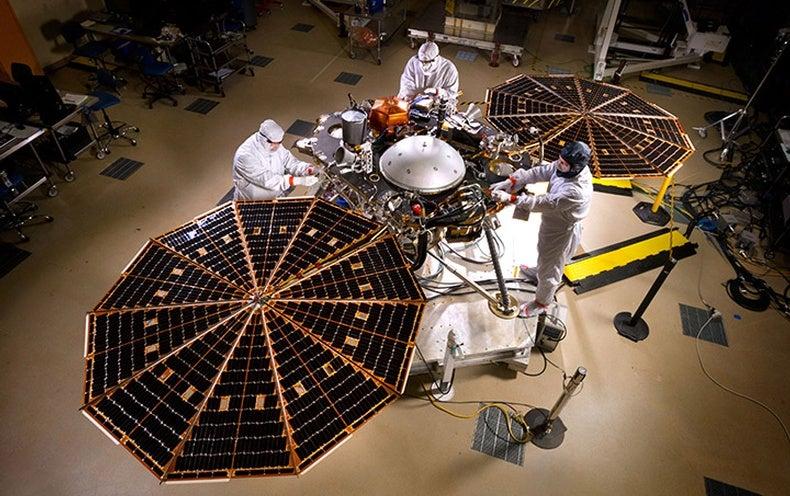 NASA's Next Mars Lander Zooms toward Launch