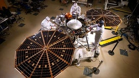 NASA's Next Mars Lander Zooms toward Launch