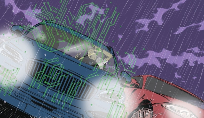 Who's Responsible When a Self-Driving Car Crashes?