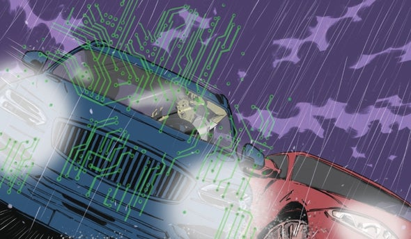 Who's Responsible When a Self-Driving Car Crashes? - Scientific American