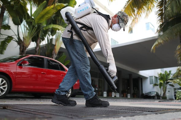 U.S. Fights Zika Mosquitoes with Limited Arsenal