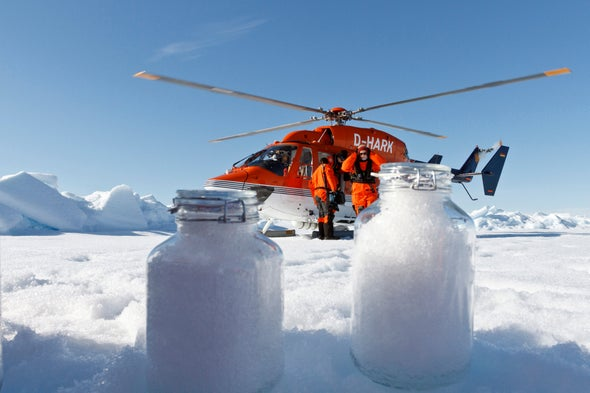 Airborne Plastic Is Blowing All the Way to the Arctic