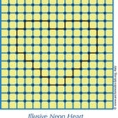 Illusory Neon Heart