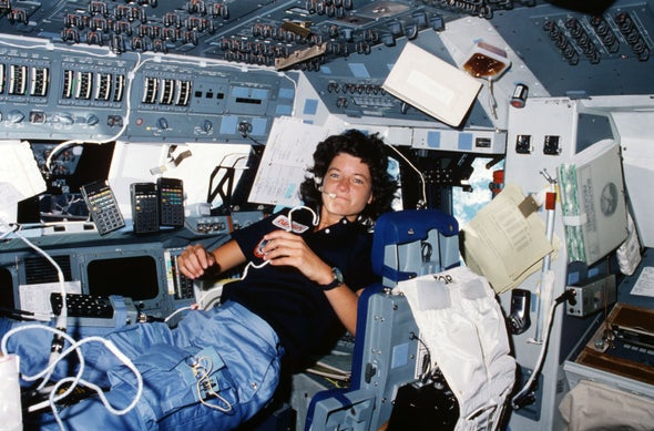 space shuttle challenger sally ride - photo #4