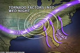 Stats on the Deadly Tornado Outbreak in the South