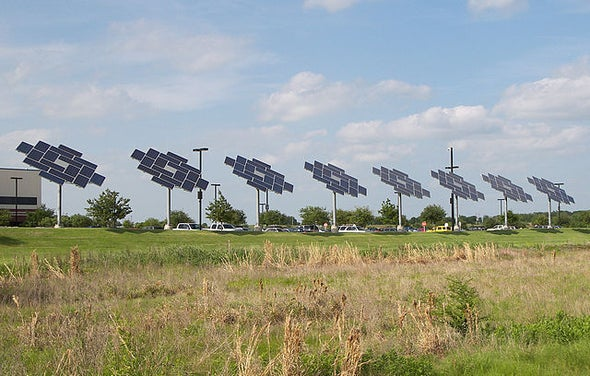 Gas-Happy Texas Goes Solar