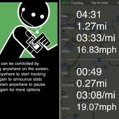 Gazelle GPS Cardiovascular Workout Tracker: