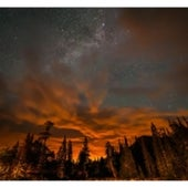 Weather, Water & Climate: Fire in the Sky over Glacier National Park