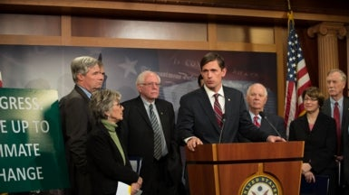 U.S. Senators Lead All-Nighter to Push for Climate Change Action