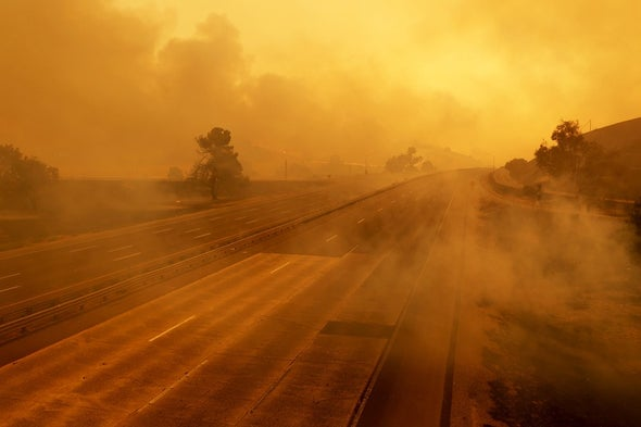 California's Mega Fires Have Arrived 30 Years Early