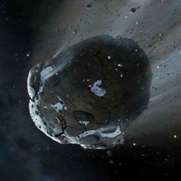 Pulverized Asteroid around Distant Star Was Full of Water
