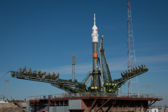 Watch the One-Year Space Station Mission Launch